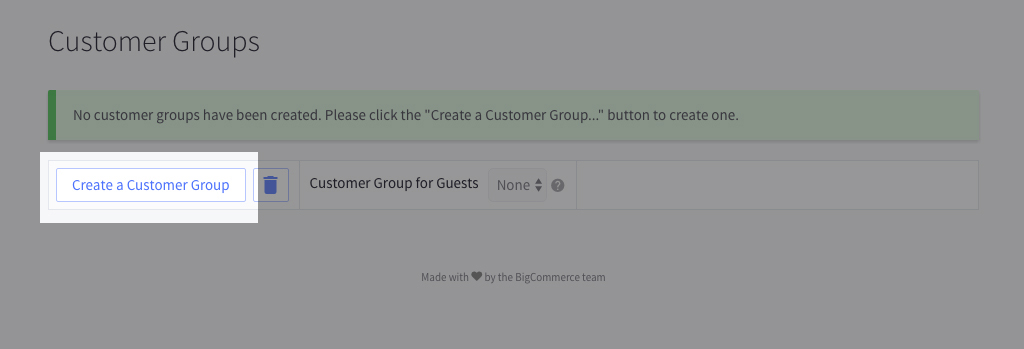 How to Set Up Customer Groups