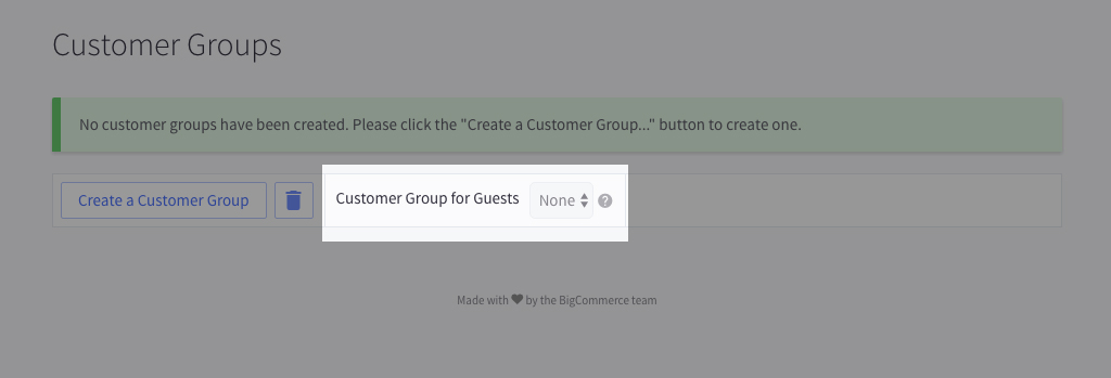 How to Assign Customers to Groups