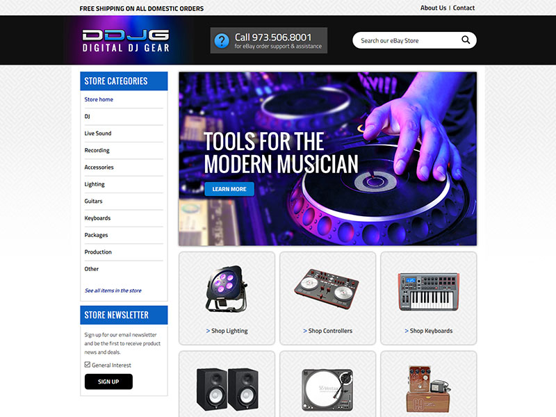 Digital DJ Gear - eBay Store