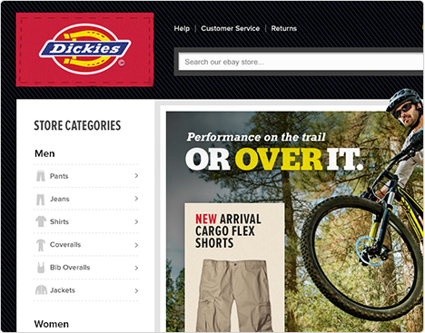Dickies Home Page