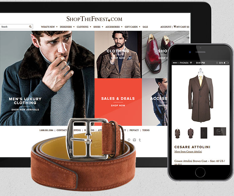 Ecommerce design for Shopify Plus website